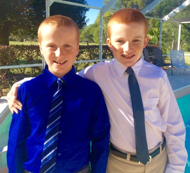 Ronan and Ryan, FL 2017