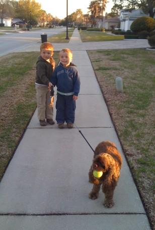 Ryan, Ronan, Patton & his ball