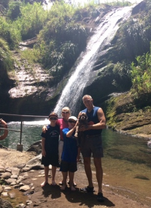 Family Concord Waterfalls, Grenada