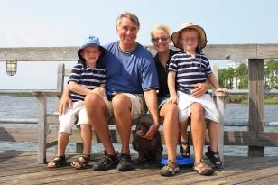 Family pic in Destin, FL