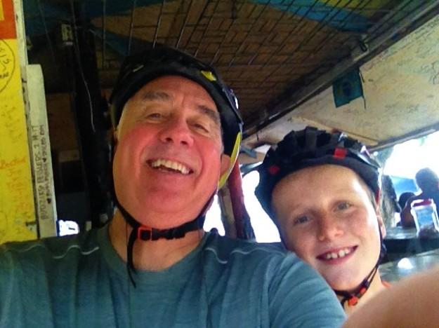Randy & Ronan, segway in St. Lucia (2017)