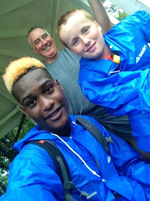 Nigel, Randy & Ronan, segway in St. Lucia (2017)