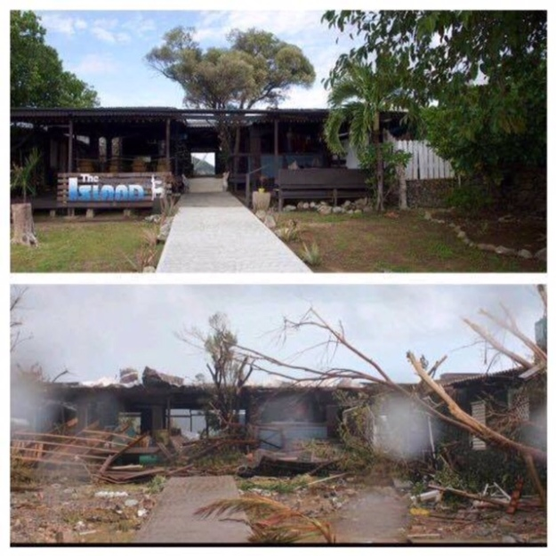 Last Resort, Trellis Bay, BVI (Before and After)