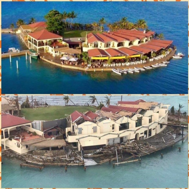 Sabba Rock, BVI (Before & After)