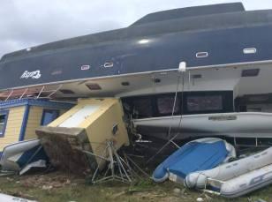 BVI, Nanny Cay Marina, Post Hurricane Irma (2017)