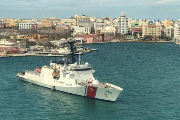 USCG Cutter James Sept 26 San Juan