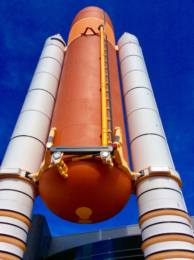 External Fuel Tank and Solid Rocket Boosters for Space Shuttle, Kennedy Space Center, Cape Canaveral, FL, 12-17