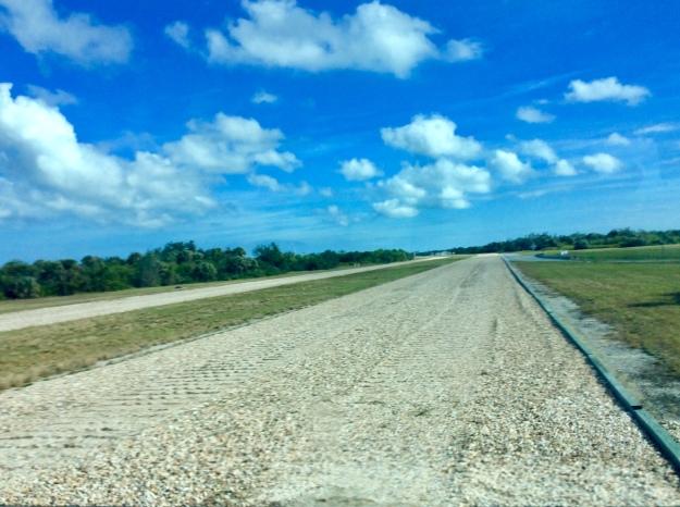 Crawler Space Shuttle (1 mi/hr) track, Kennedy Space Center, Cape Canaveral, FL, 12-17