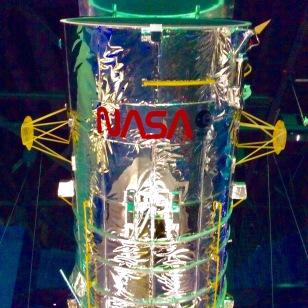 Hubble Telescope (replica), Kennedy Space Center, Cape Canaveral, FL