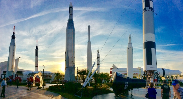 Rocket Garden, Kennedy Space Center, Cape Canaveral, FL