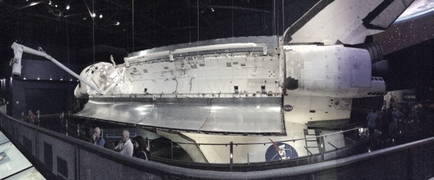 Space Shuttle Atlantis in its permanent museum home, Kennedy Space Center, Cape Canaveral, FL, 12-17