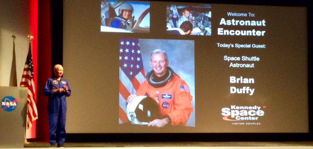 Astronaut encounter with Brian Duffy