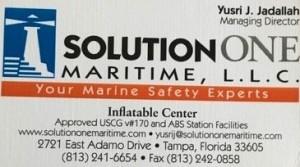 Solutions One Maritme, L.L.C., Tampa, FL