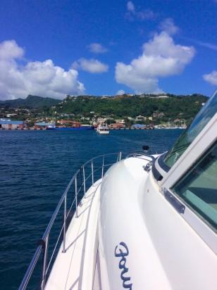 Seamantha & Pilots' Discretion arriving in Grenada Grenada