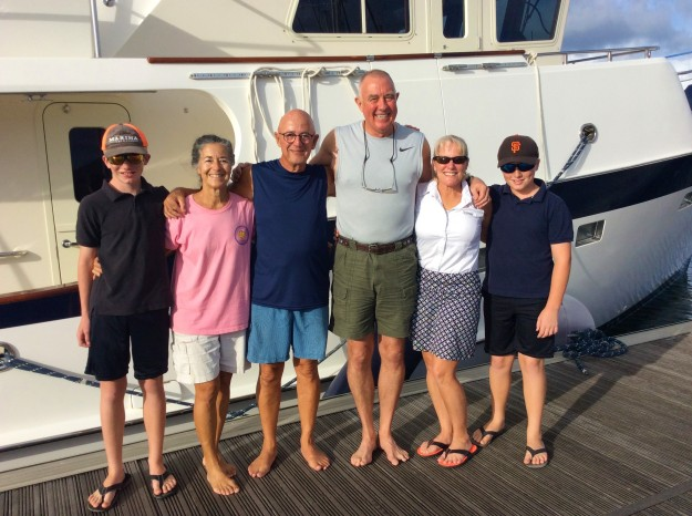 Ryan, Paulette, John, Randy, Theresa & Ronan in St. Lucia (Jan. 2018)