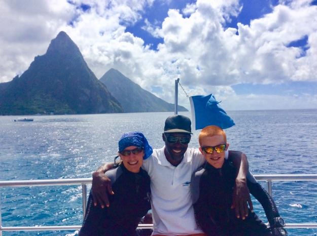 Theresa, Dive St. Lucia Capt. Dwight & Ryan (Jan. 2018)