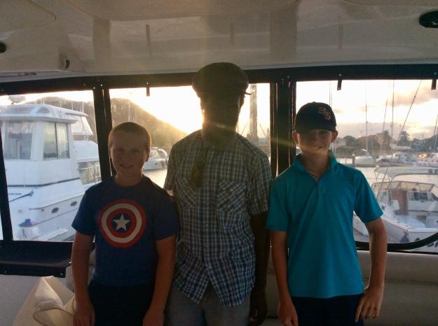 Ronan, Gaza & Ryan - Eisenglass done!