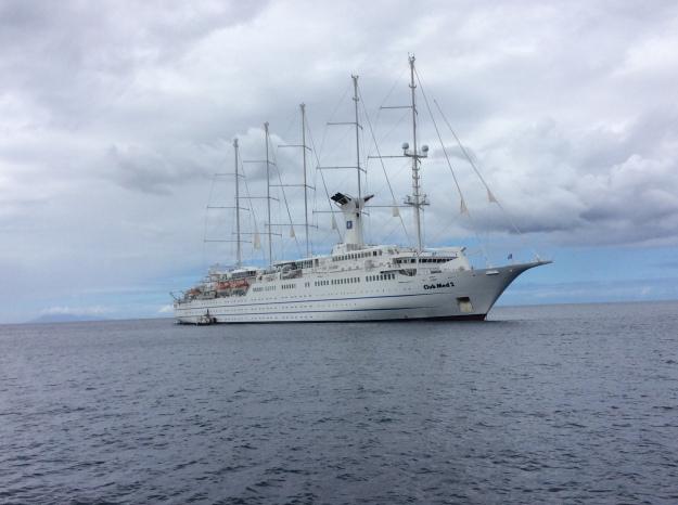 Club Med 2 Sailing Cruise Ship, Deshaies, Guadeloupe (2018)