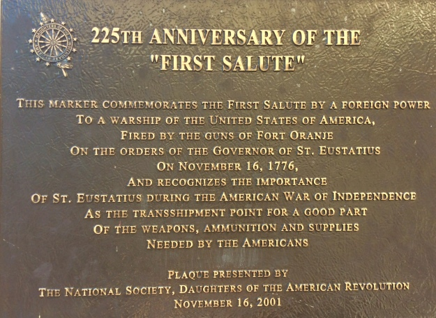 First Salute Plaque