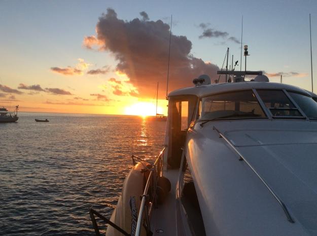 Sunset, Deshaies, Guadeloupe (2018)