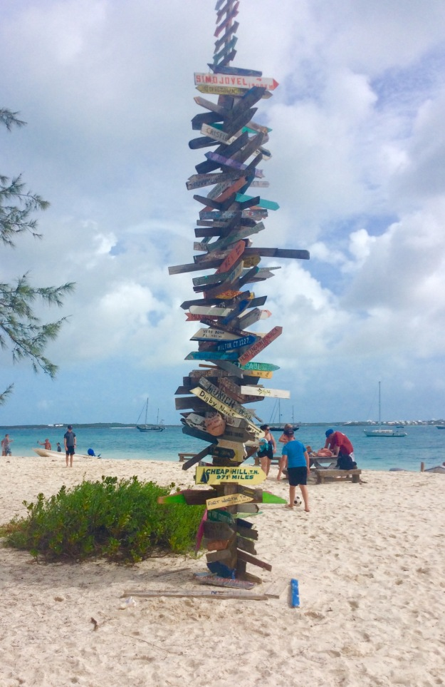 Chat 'N' Chill, Volley Ball Beach, Stocking Island, Exuma, Bahamas