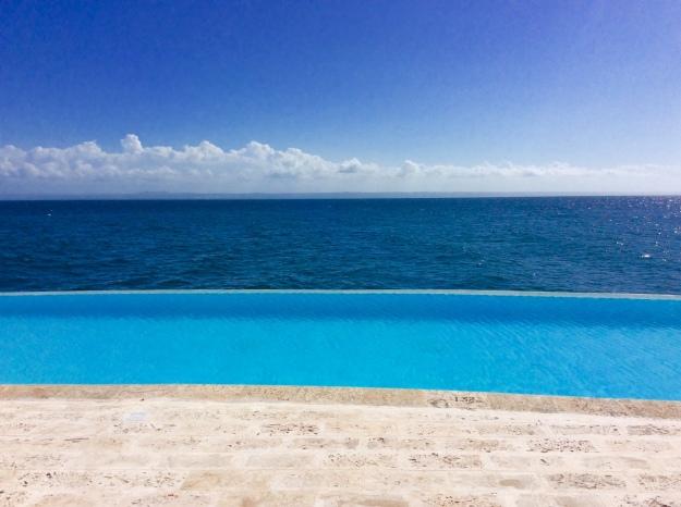 Ocean Club infinity pool, Puerto Bahia Marina, Samana, Dominican Republic