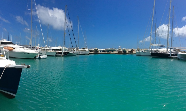 New marina at Nanny Cay, Tortola, BVI (March 2018)