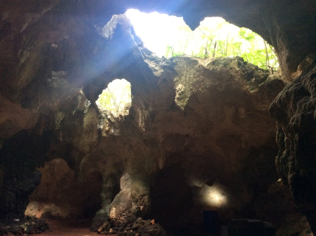 Cave, Long Island, Bahamas