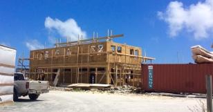 New construction at new marina, Nanny Cay, Tortola, BVI (March 2018)