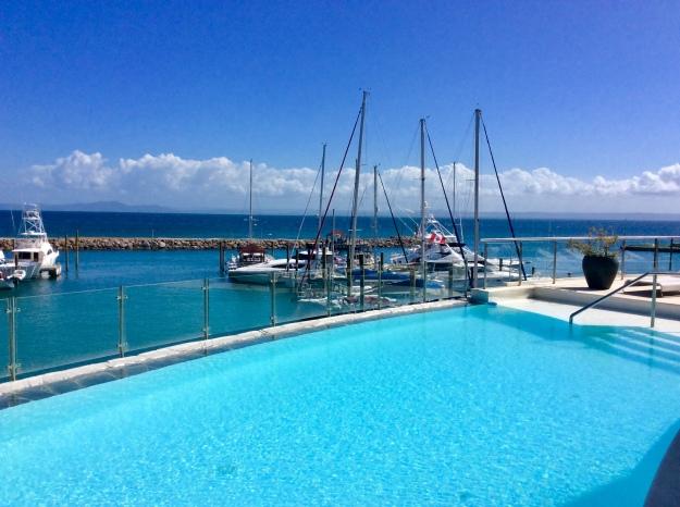 Infinity Pool, Puerto Bahia Marina, Samana, Dominican Republic