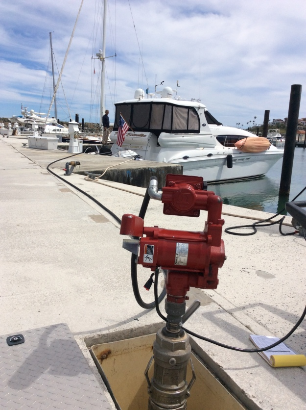 In slip fueling, The Yact Club Marina at Palmas del Mar, Humacao, Puerto Rico