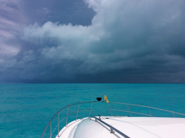 Approaching Providenciales Turks & Caicos