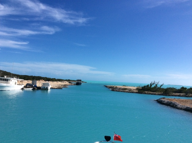 Southside Marina, looking towards the channel, Providenciales Turks & Caicos