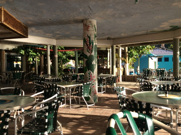 Myett's Restaurant, Cane Garden Bay, Tortola, BVIs (March 2018)