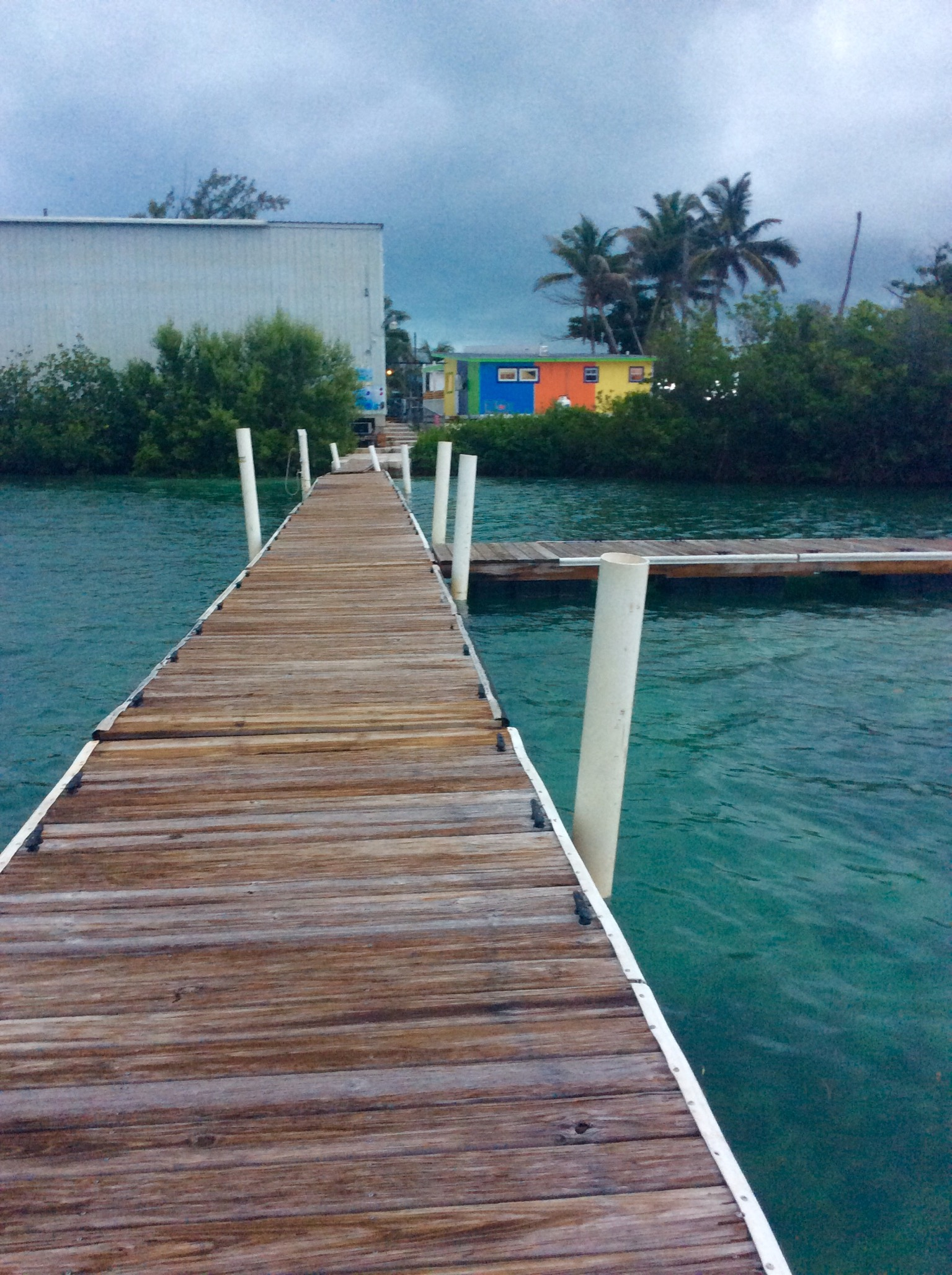Georgetown dinghy dock, Great Exuma, Bahamas