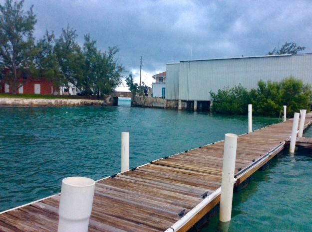 Georgetown dinghy dock, Great Exuma, Bahamas