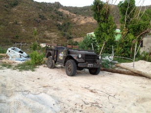 Corsair's Jeep, Great Harobor, Jost Van Dyke (March 2018)