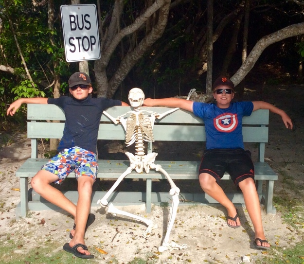 "Ryan & Ronan @ the ""Bus Stop,"" Highbourne Cay, Bahamas (June 2018)"
