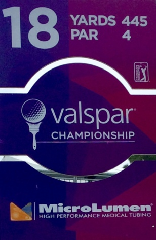 18th hole 2019 PGA Valspar Championship