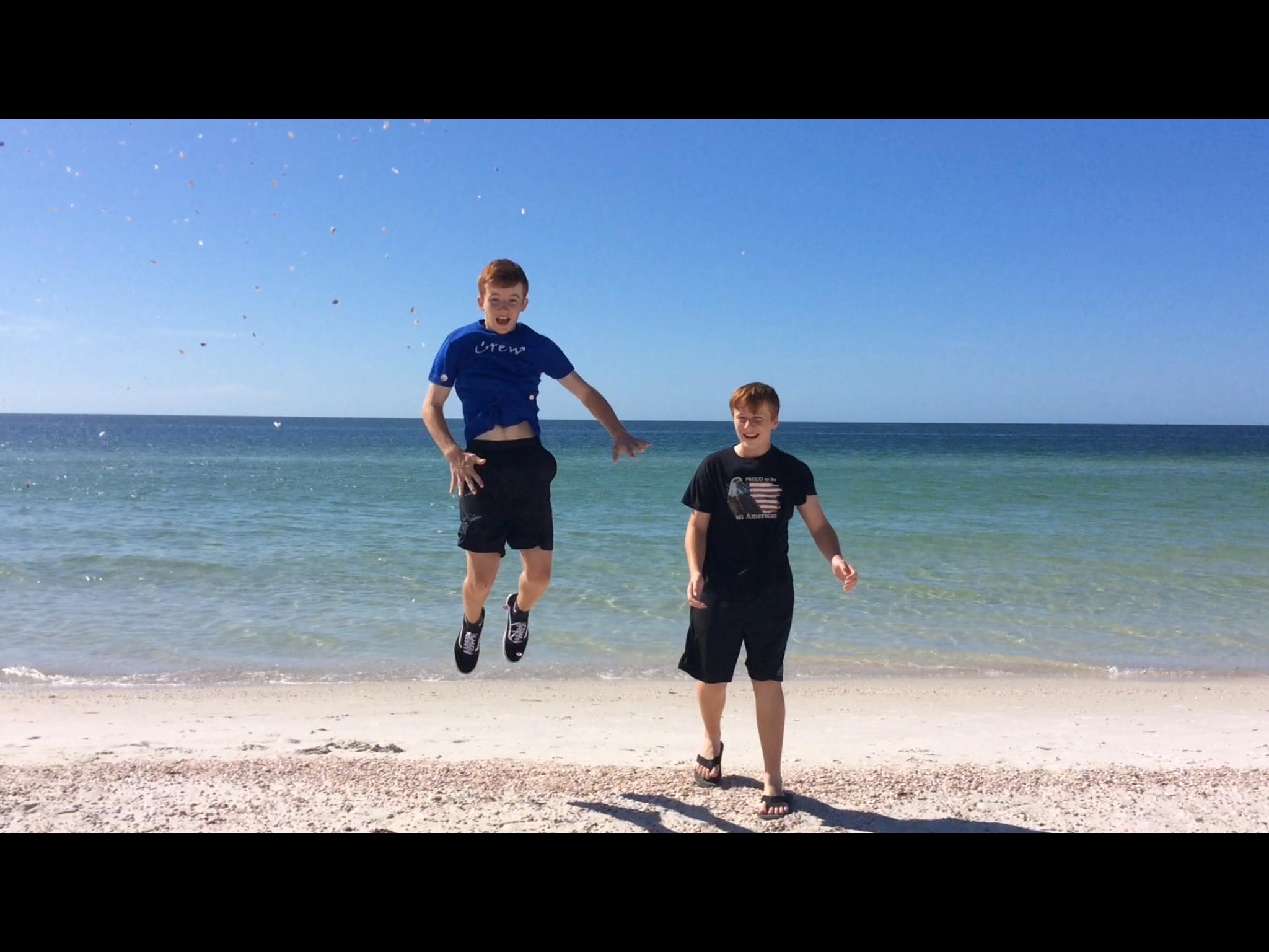 R&R at the beach, Caladesi Island, FL (Oct. 2019)