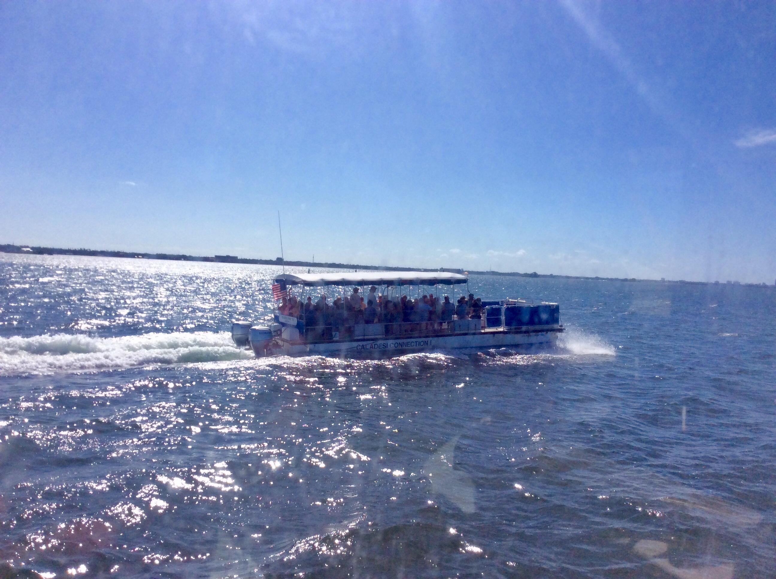 Ferry to Caladesi Island State Park, FL (Oct. 2019)